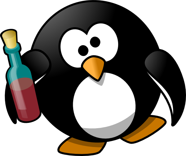 drunk penguin  icon