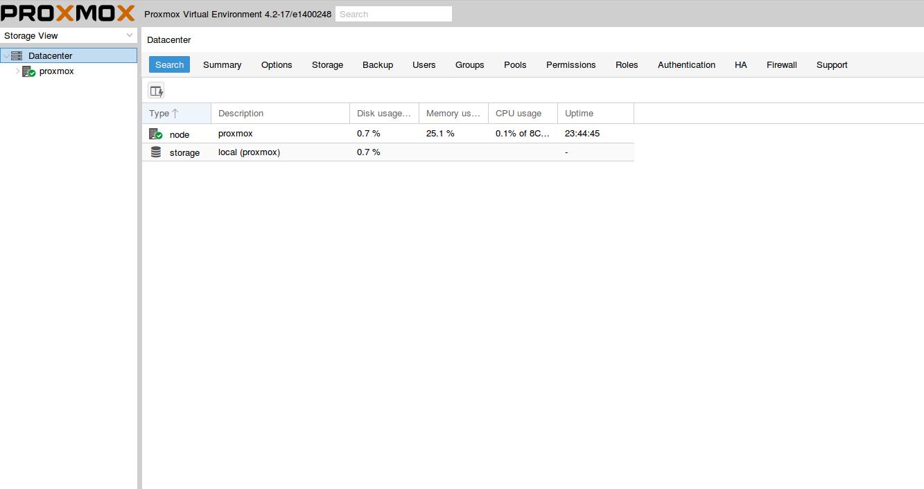 Install Proxmox 4 2 VE on a Hetzner server